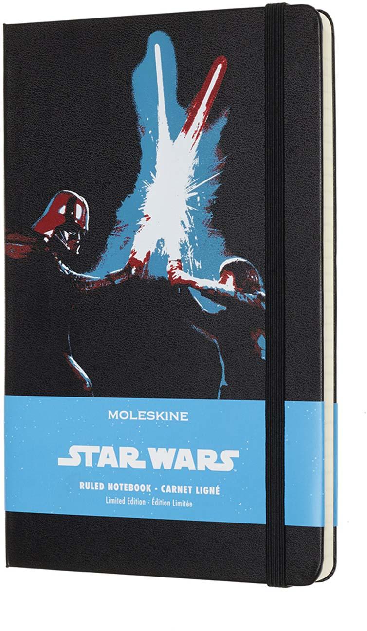 Moleskine Блокнот Star Wars Limited Edition Lightsaber Duel 240 листов в линейку цвет черный