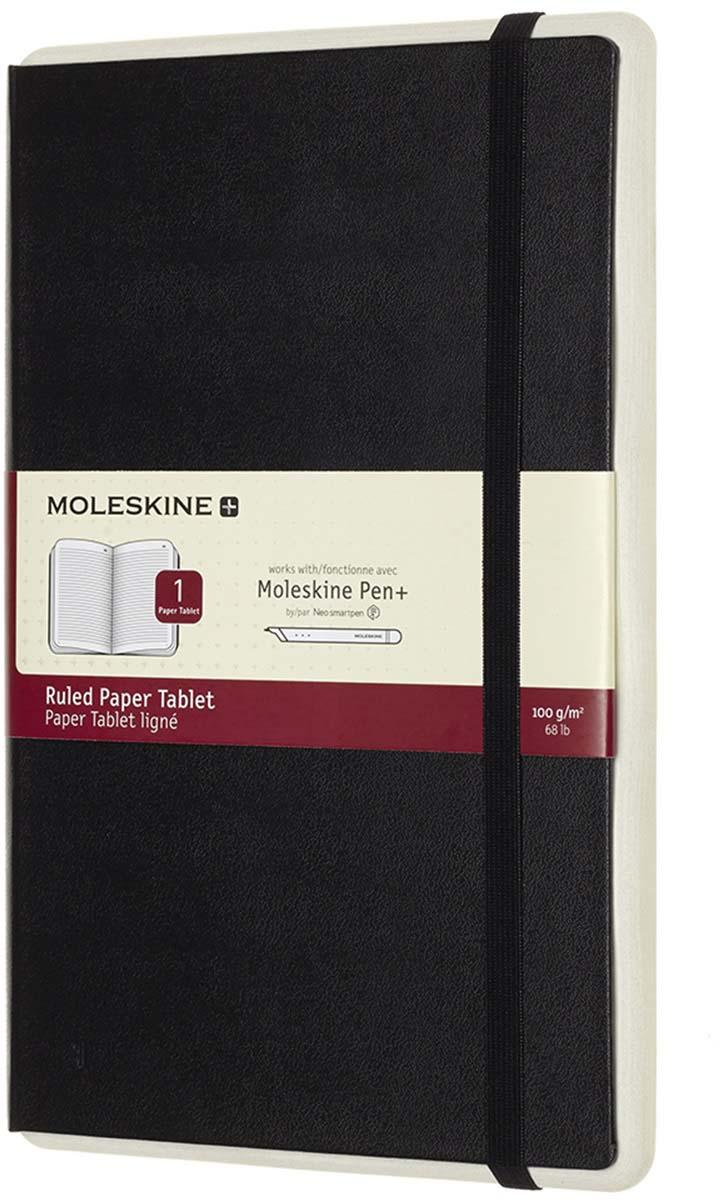 Moleskine Блокнот Paper Tablet Large 176 листов в линейку цвет черный