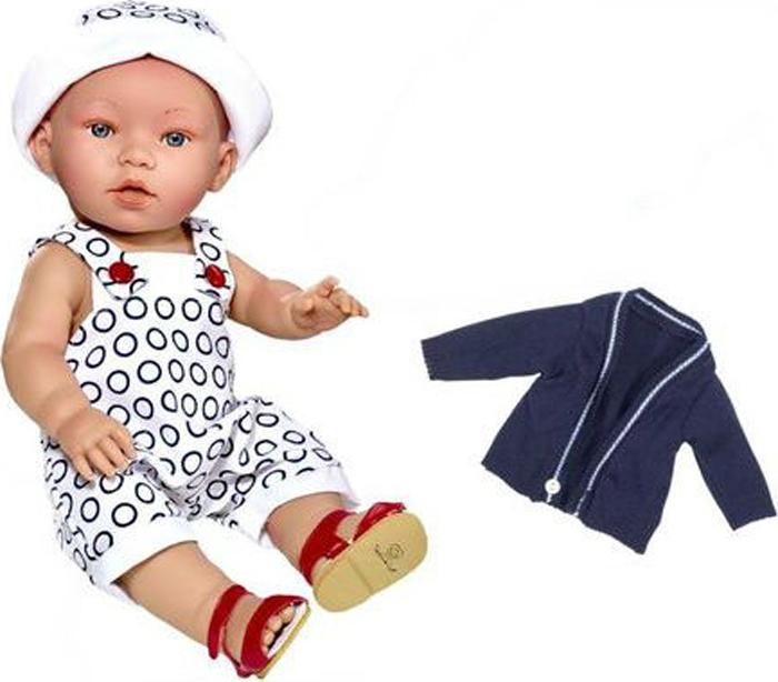 Vestida de Azul Кукла Дилан в синей жилетке