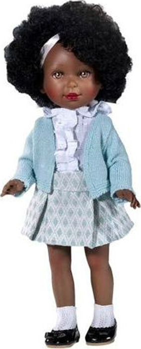 Vestida de Azul Кукла Паулина африканка Весна Классика