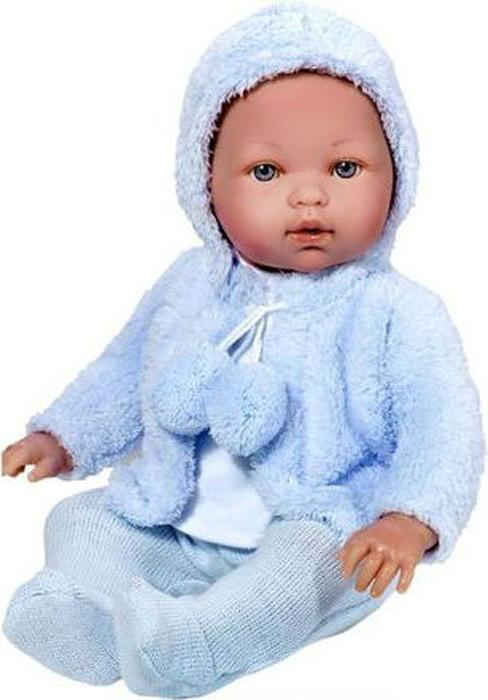 Vestida de Azul Кукла Тонино в голубой шубке озвученная