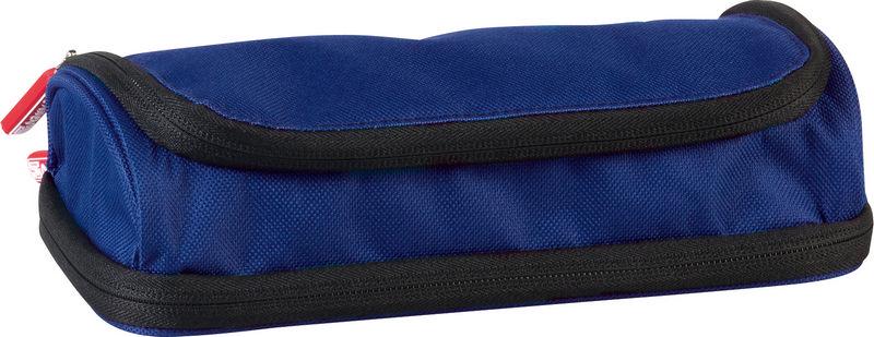 Пенал Brunnen Case Duo, 2 отделения, цвет: синий. 49036-30