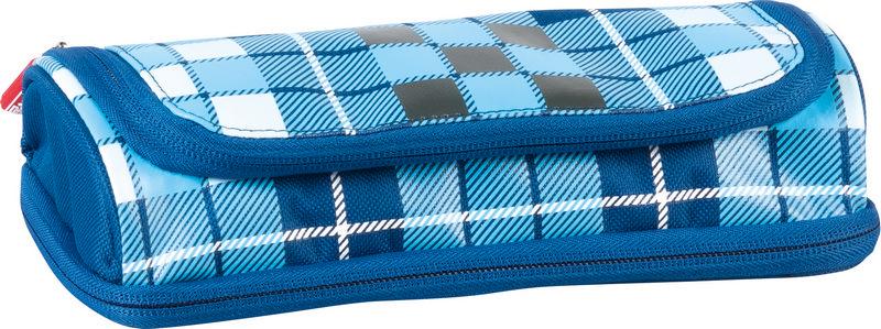 Пенал Brunnen Case Duo, 2 отделения, цвет: синий, черный. 49036-02