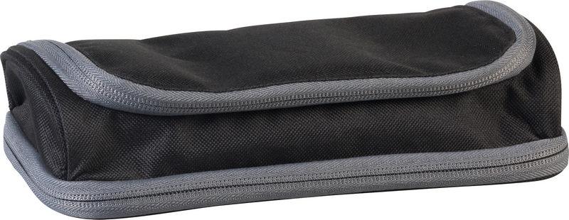 Пенал Brunnen Case Duo, 2 отделения, цвет: черный. 49036-90 brunnen ластик машинка