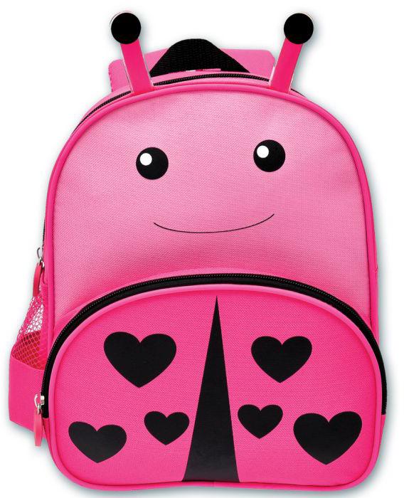 Феникс+ Рюкзак детский Божья коровка цвет розовый