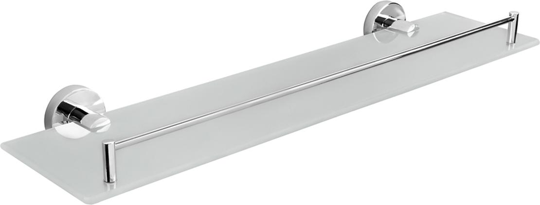 Полка Verran Ambiss, прямоугольная, цвет: серебристый, 51,5 х 5,5 х 15 см. 250-18