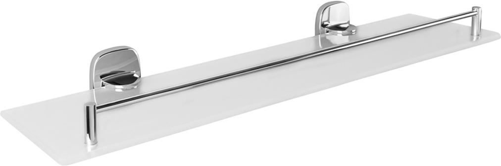 Полка настенная Verran Accord, прямоугольная, 52 х 6,7 х 13,7 см, цвет: серебристый. 250-20