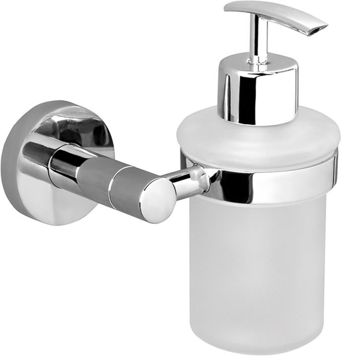 """Дозатор Verran """"Ambiss"""", настенный, для жидкого мыла, цвет: серебристый. 255-18"""