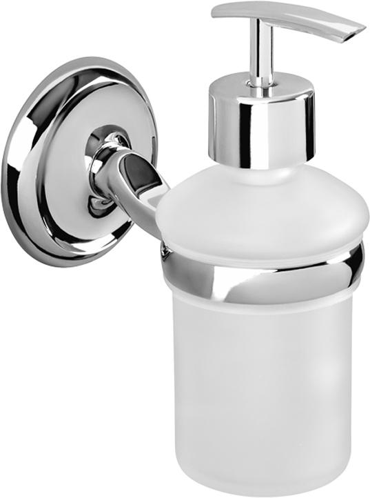 """Дозатор Verran """"Largo"""", настенный, для жидкого мыла, цвет: серебристый. 255-19"""