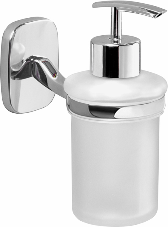 """Дозатор Verran """"Accord"""", настенный, для жидкого мыла, цвет: серебристый. 255-20"""