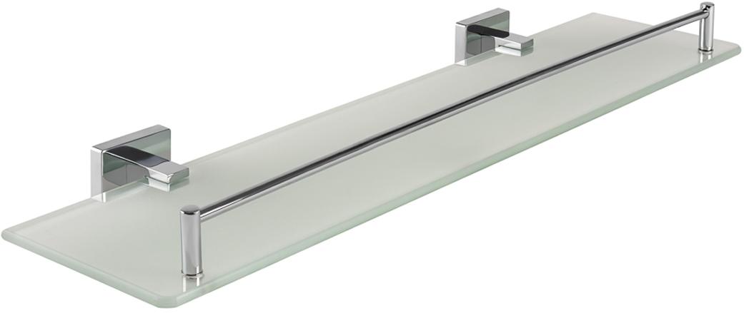 Полка Wess Defense, прямоугольная, цвет: серебристый, 51,9 х 5,6 х 14,5 см. W01-11