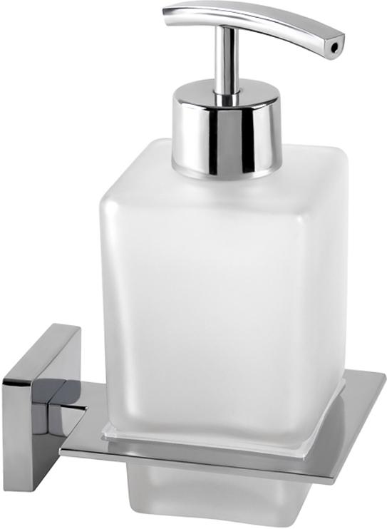 """Дозатор Wess """"Defense"""", настенный, для жидкого мыла, цвет: серебристый. W06-11"""