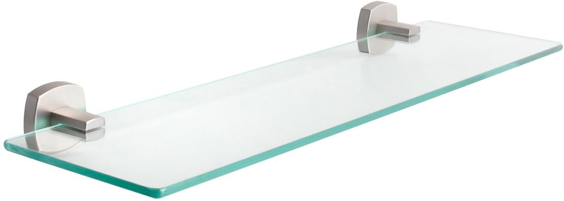 Полка Wess Istad, прямоугольная, цвет: серебристый, 51,9 х 5 х 14,3 см. W01-10
