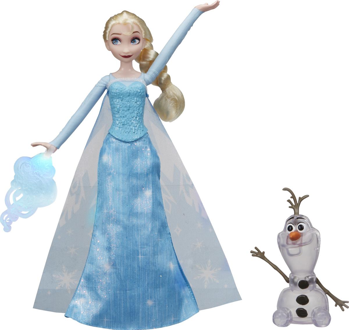 Игровой набор Disney Frozen с куклой Эльза и волшебство, звуковые и световые эффекты disney frozen игровой набор магазин сладостей эренделла