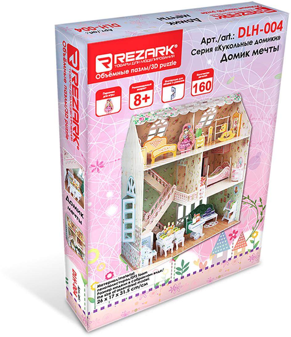 кукольные домики и мебель Rezark 3D Пазл Кукольные домики Домик мечты