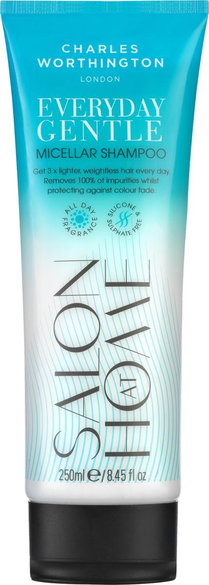 Charles Worthington Шампунь мицеллярный для волос Бережное очищение, 250 мл добавки шампунь вред для организма при вдыхании