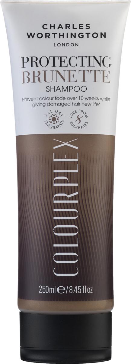Charles Worthington Шампунь для темных волос 2 в 1: защита цвета и восстановление волос