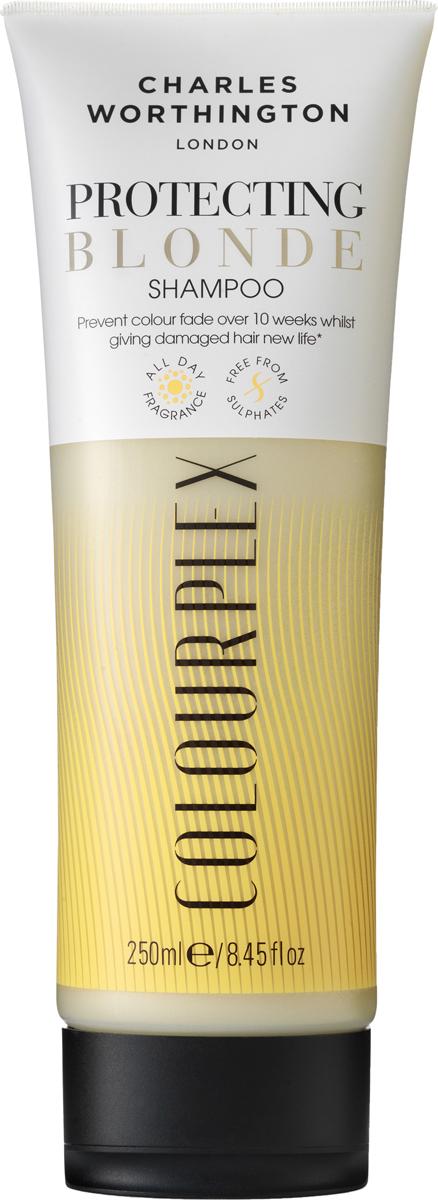 Charles Worthington Шампунь для светлых волос 2 в 1: защита цвета и восстановление волос