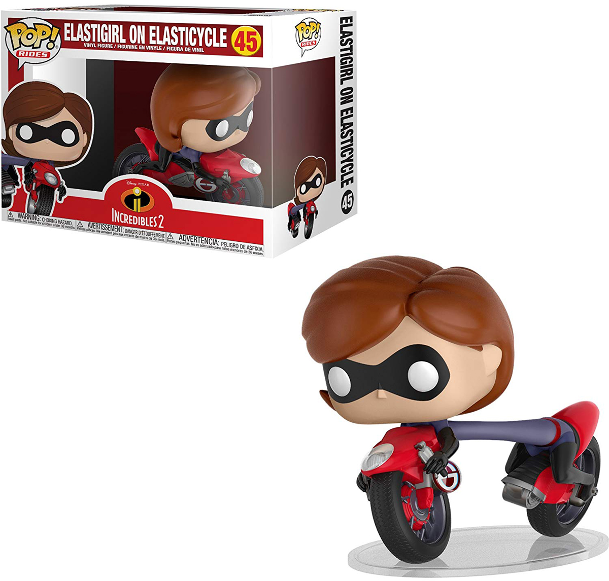 Funko POP! Rides Фигурка Суперсемейка 2 (Incredibles 2) POP Ride 1 29955 растение фикус эластика мелани д 12