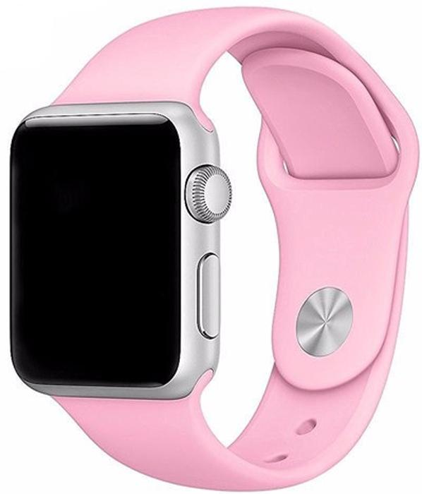 Ремешок для смарт-часов Eva AVA001 для Apple Watch 38 мм, розовый ремешок dbramante1928 mode madrid для apple watch 38 мм темно розовый