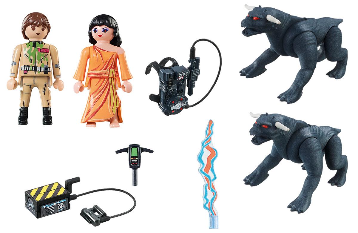Playmobil Игровой набор Охотники за привидениями Питер Венкман и ужасные собаки