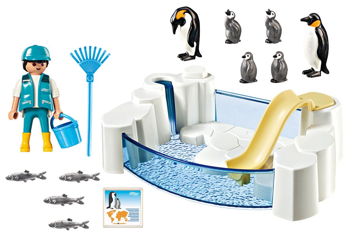Playmobil Игровой набор Аквариум Приложение Пингвин