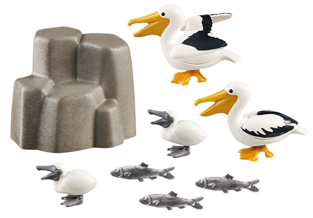 """Игровой набор Playmobil Аквариум """"Семья пеликанов"""""""