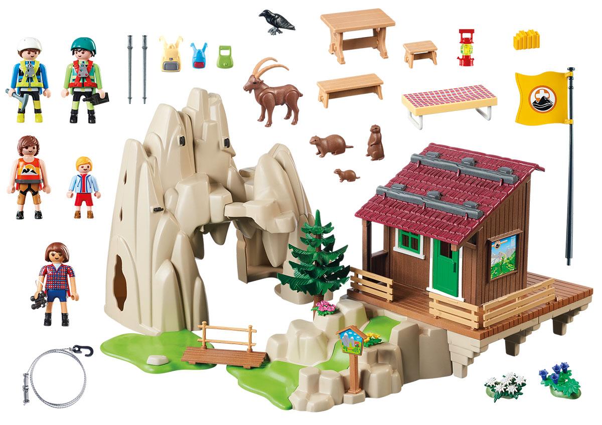 Playmobil Игровой набор Горноспасательная Скалолаз с кабиной