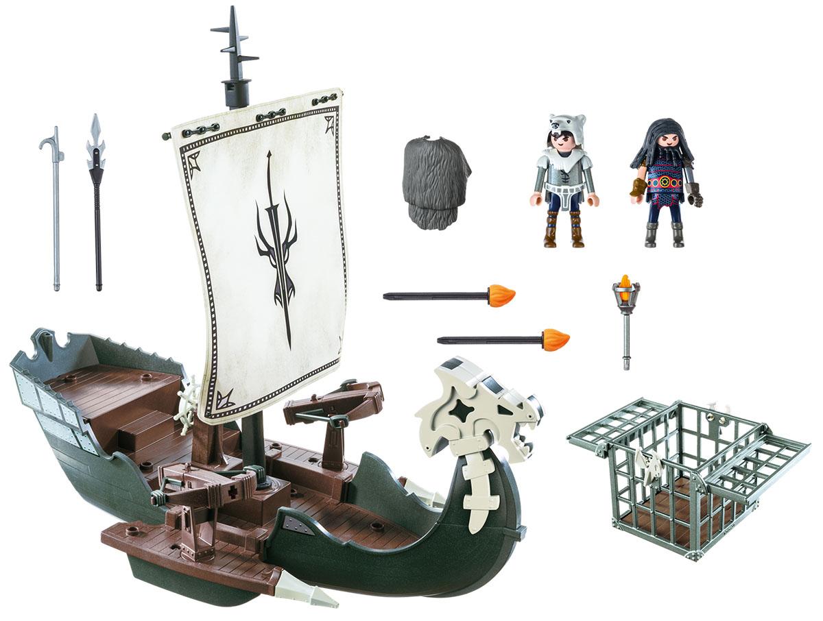 Playmobil Игровой набор Драконы Драконий корабль викингов