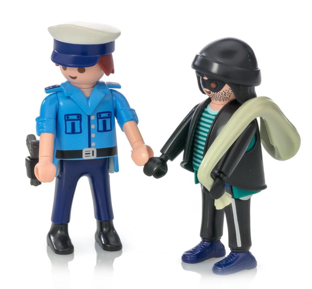 Playmobil Игровой набор ДУО Полицейский и грабитель