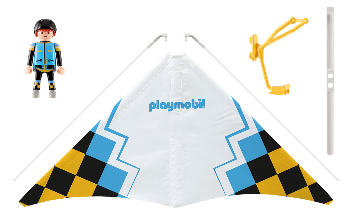 Playmobil Игровой набор Желтый дельтаплан