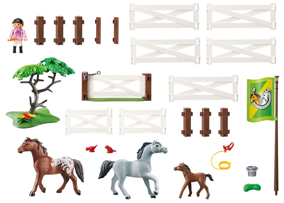 Playmobil Игровой набор Загон для лошадей
