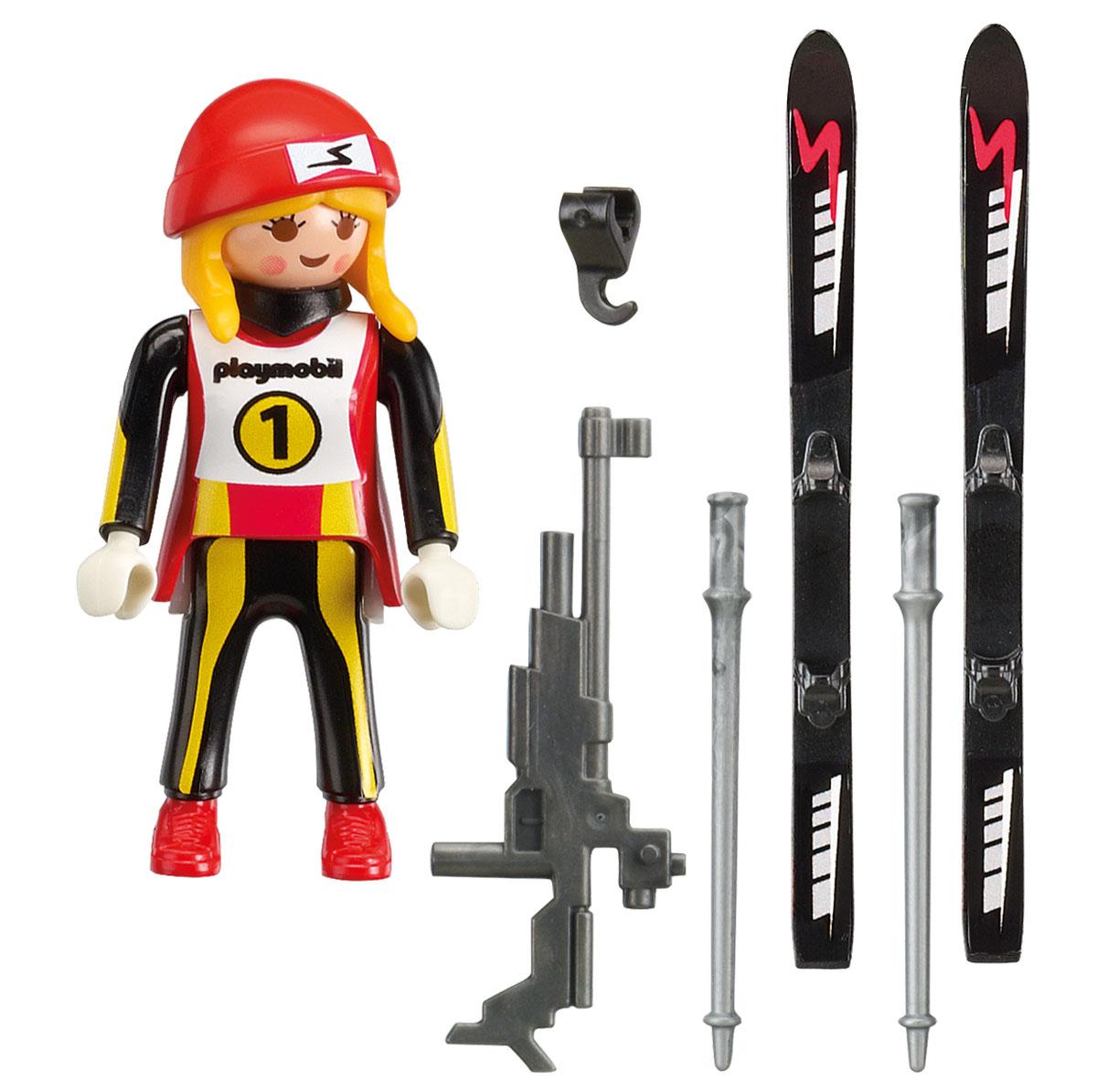 Playmobil Игровой набор Зимние виды спорта Биатлонистка