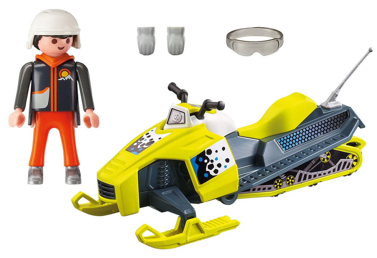 Playmobil Игровой набор Зимние виды спорта Сноумобиль