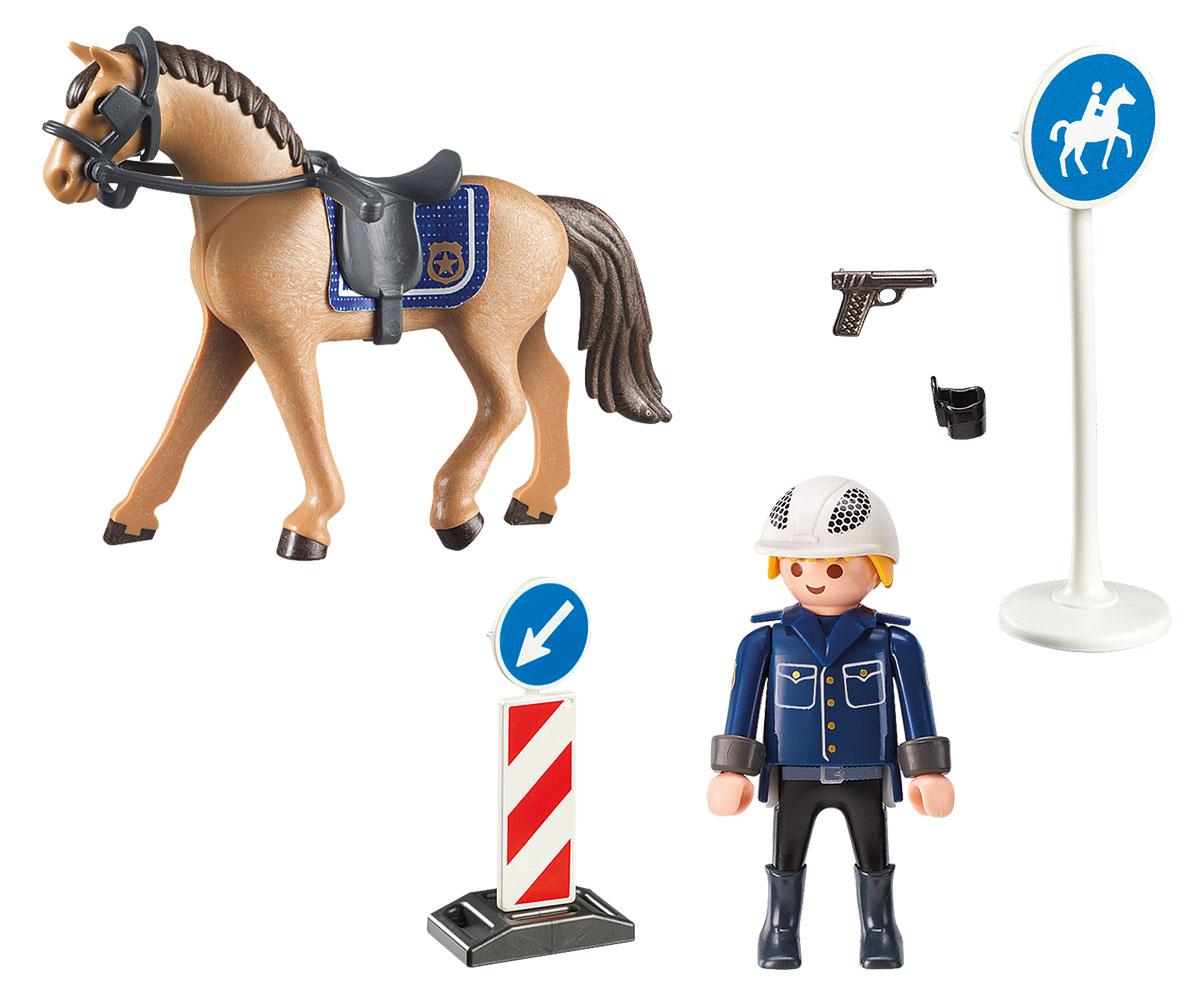 Playmobil Игровой набор Конный спорт Горная полиция