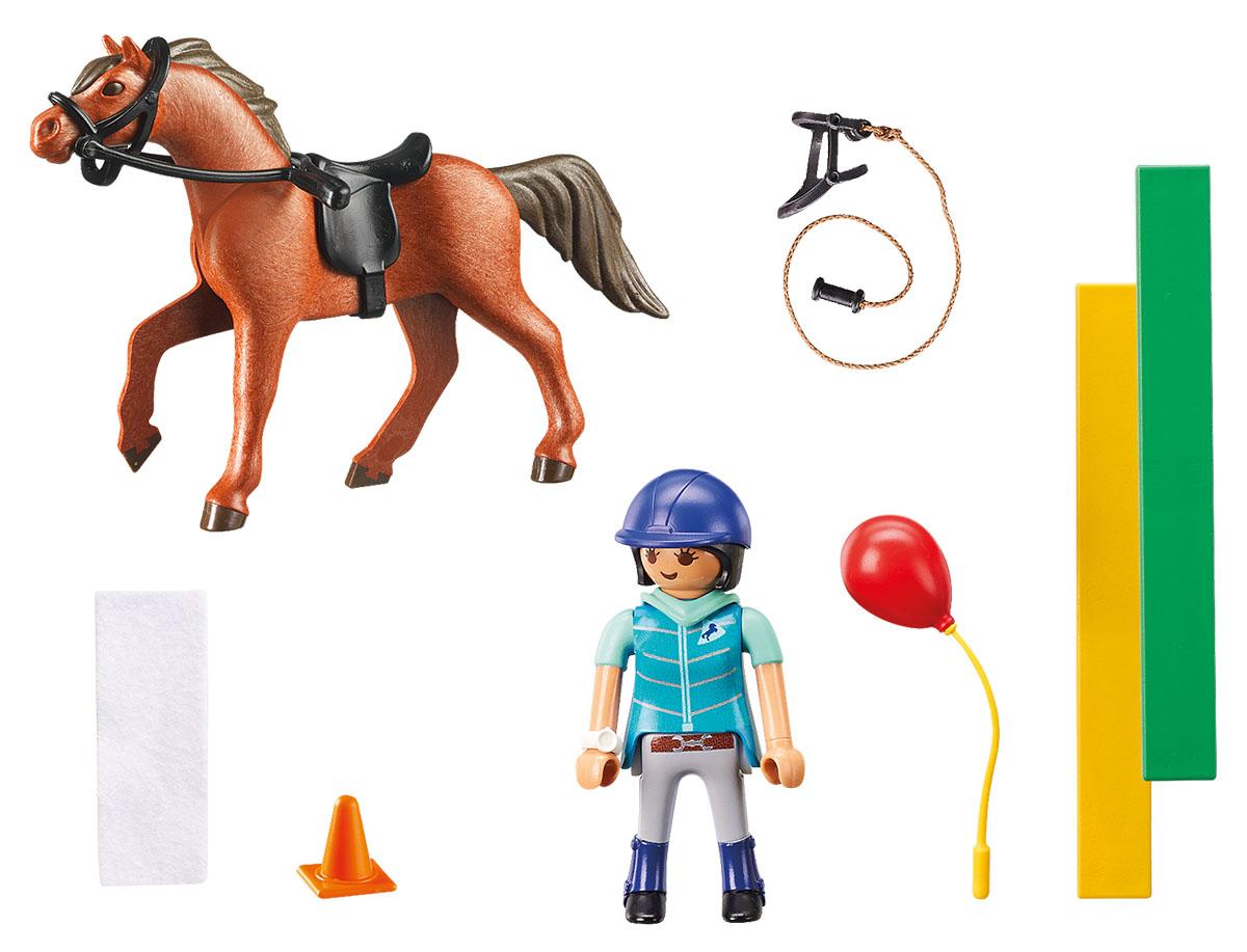 Playmobil Игровой набор Конный спорт Конный терапевт