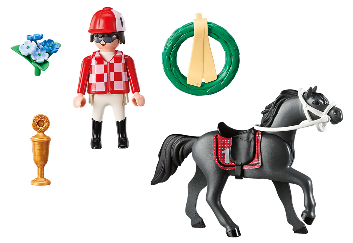 Playmobil Игровой набор Конный спорт Наездник