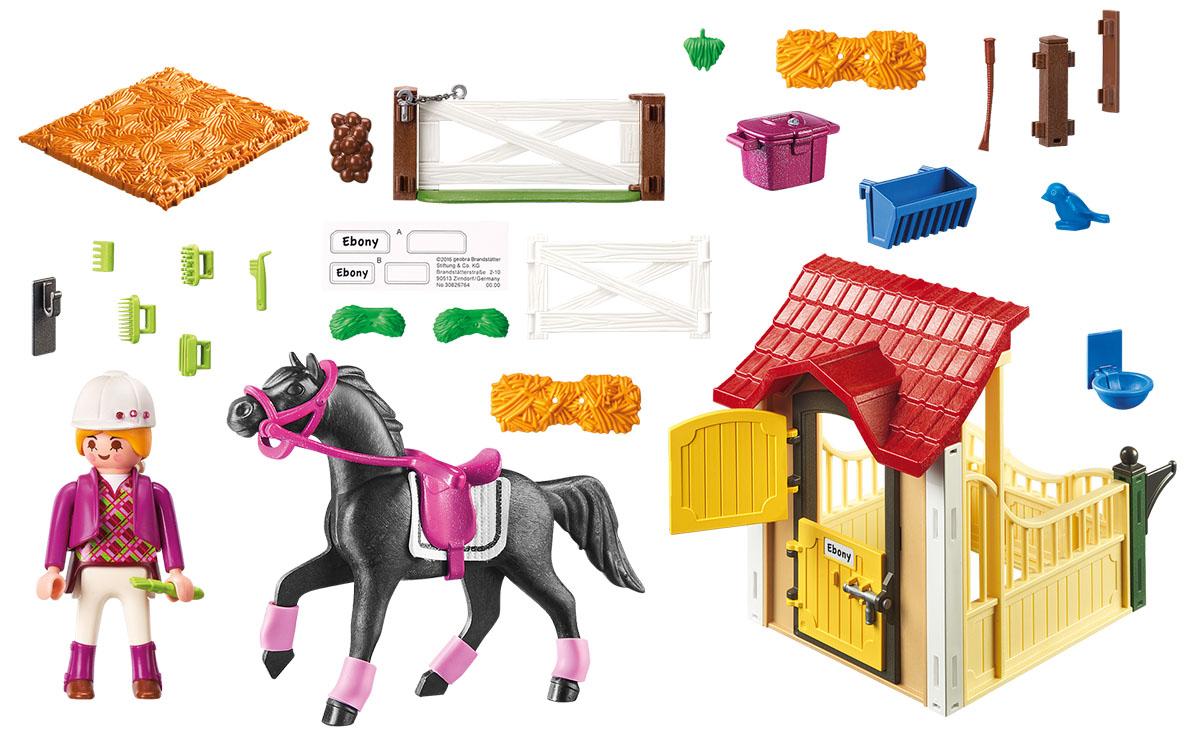 Playmobil Игровой набор Конюшня с арабскими скакунами