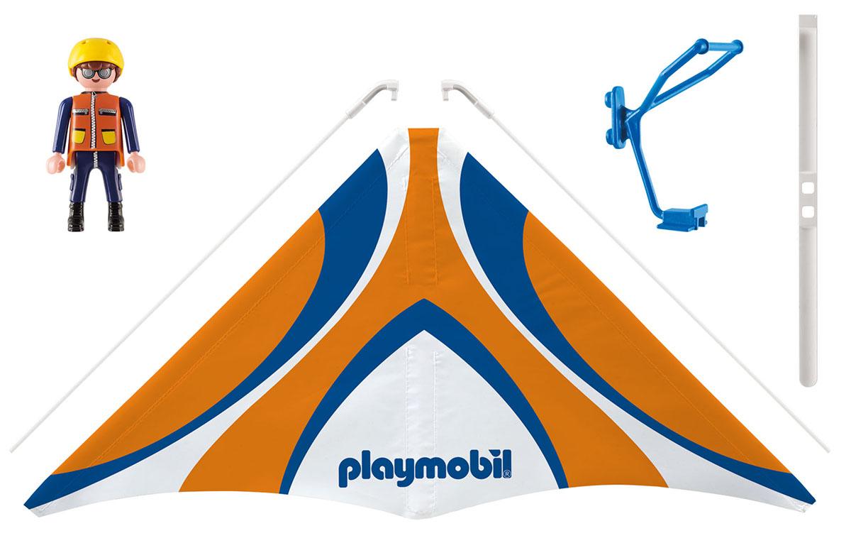 Playmobil Игровой набор Оранжевый дельтаплан