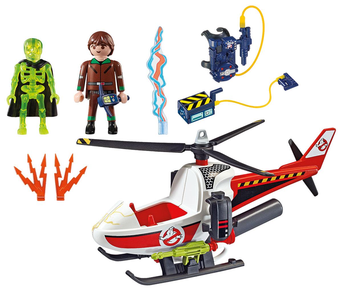 Playmobil Игровой набор Охотники за привидениями Вэнкман с вертолетом