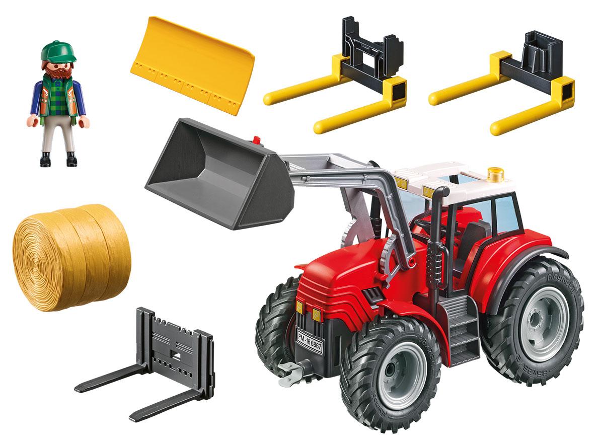 """Игровой набор Playmobil """"Ферма. Большой трактор"""""""
