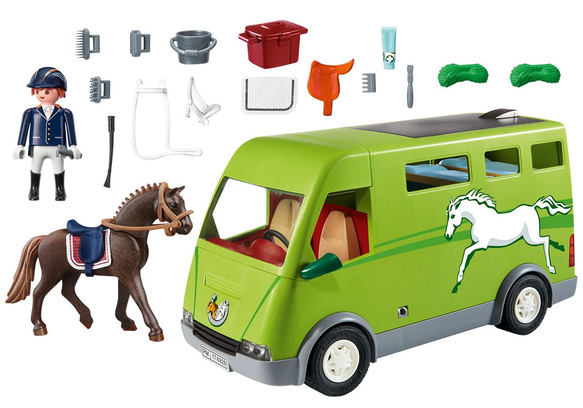 Playmobil Игровой набор Ферма Лошадиный бокс
