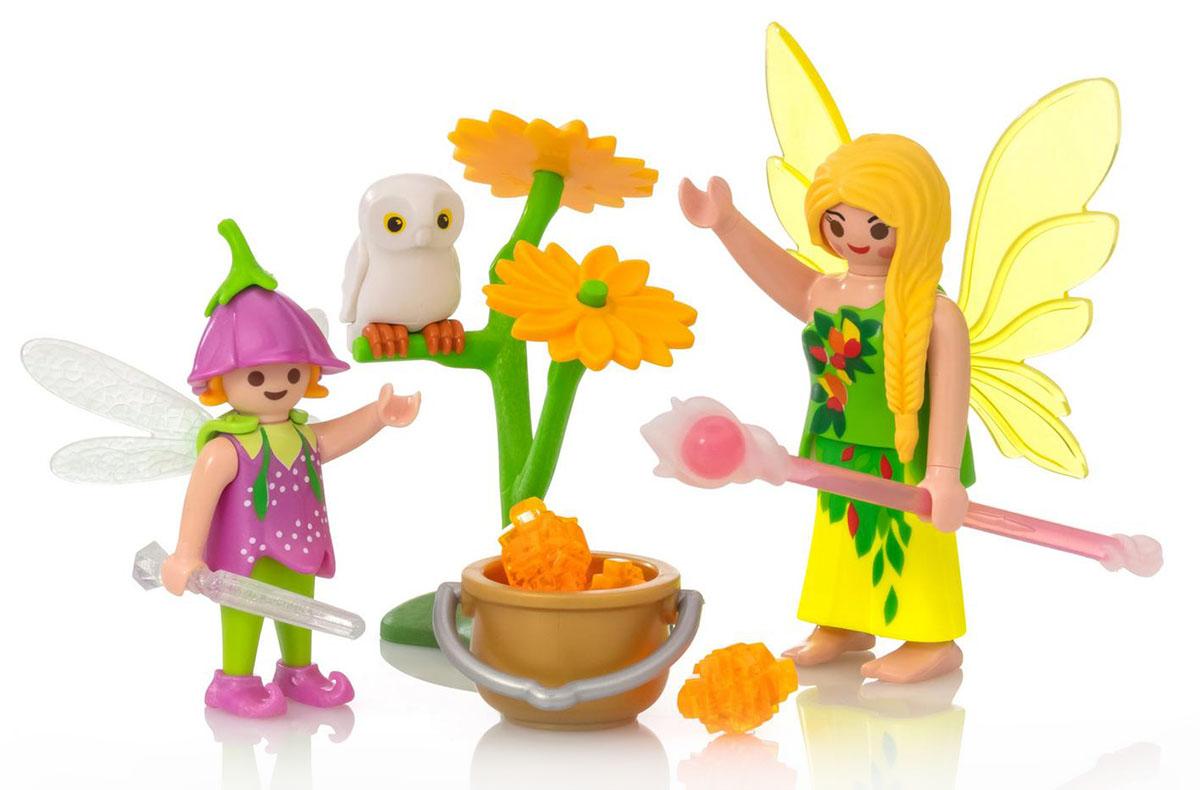 """Игровой набор Playmobil """"Яйцо: Феи с волшебным котлом"""""""