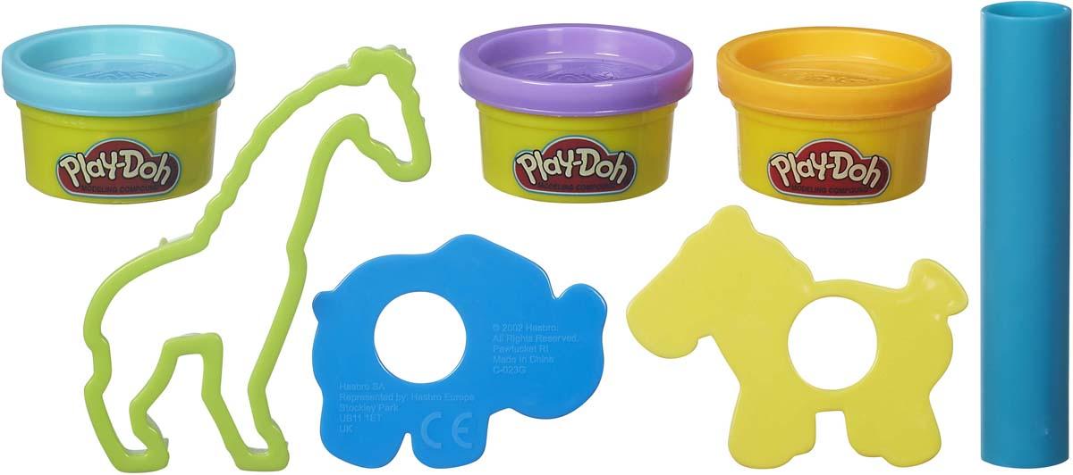 """Мини-набор для лепки Play-Doh """"Зоопарк"""""""