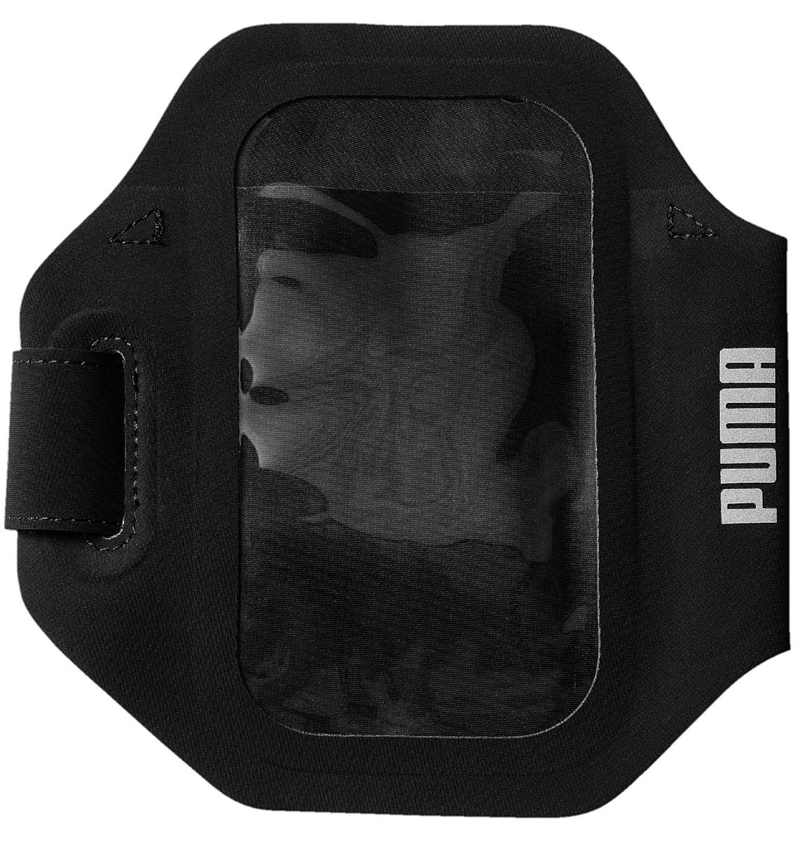 Чехол для телефона Puma PR Sport Phone Armband, цвет: черный, размер S/M. 05345401 пуховик мужской puma ferrari down jacket цвет черный 57667402 размер s 44 46