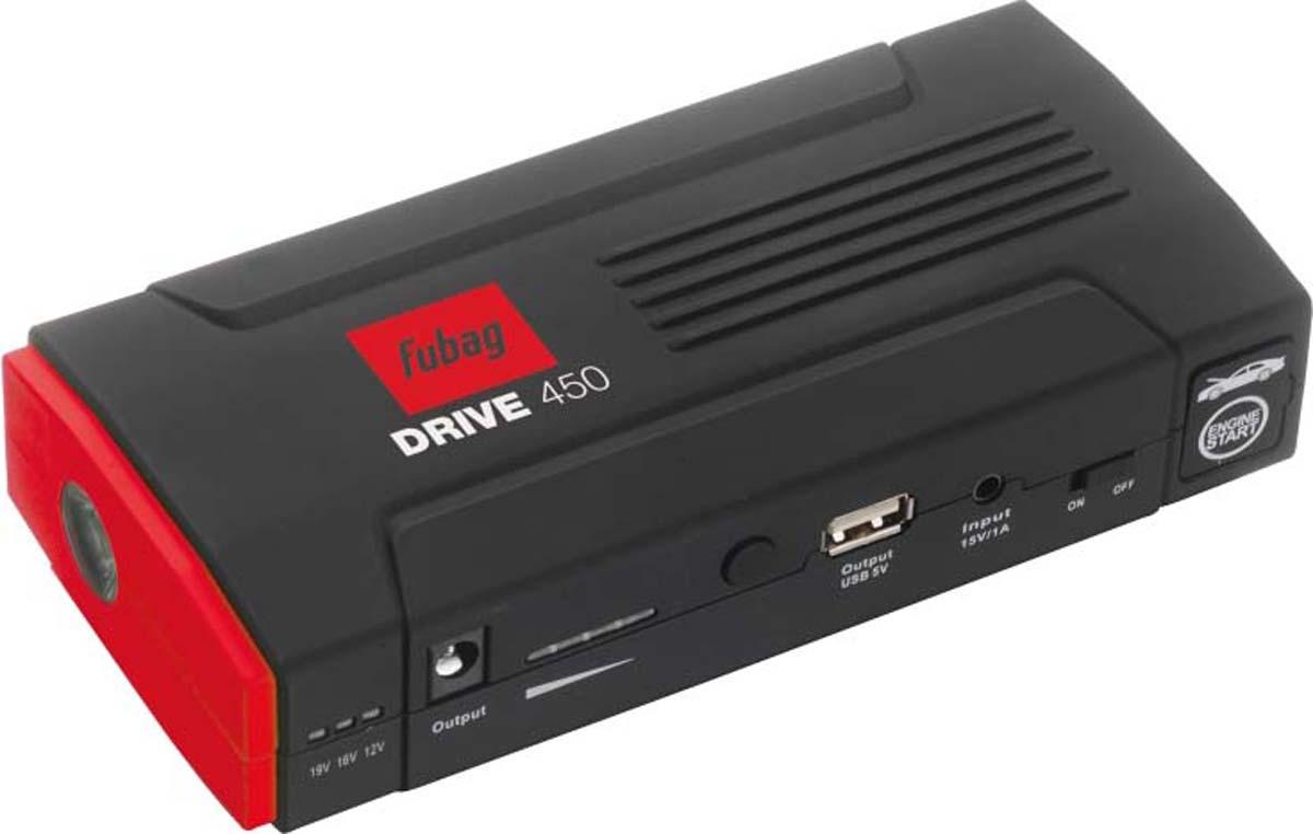 цена на Пусковое устройство Fubag Drive 450, 12000 мАч, цвет: красный, черный