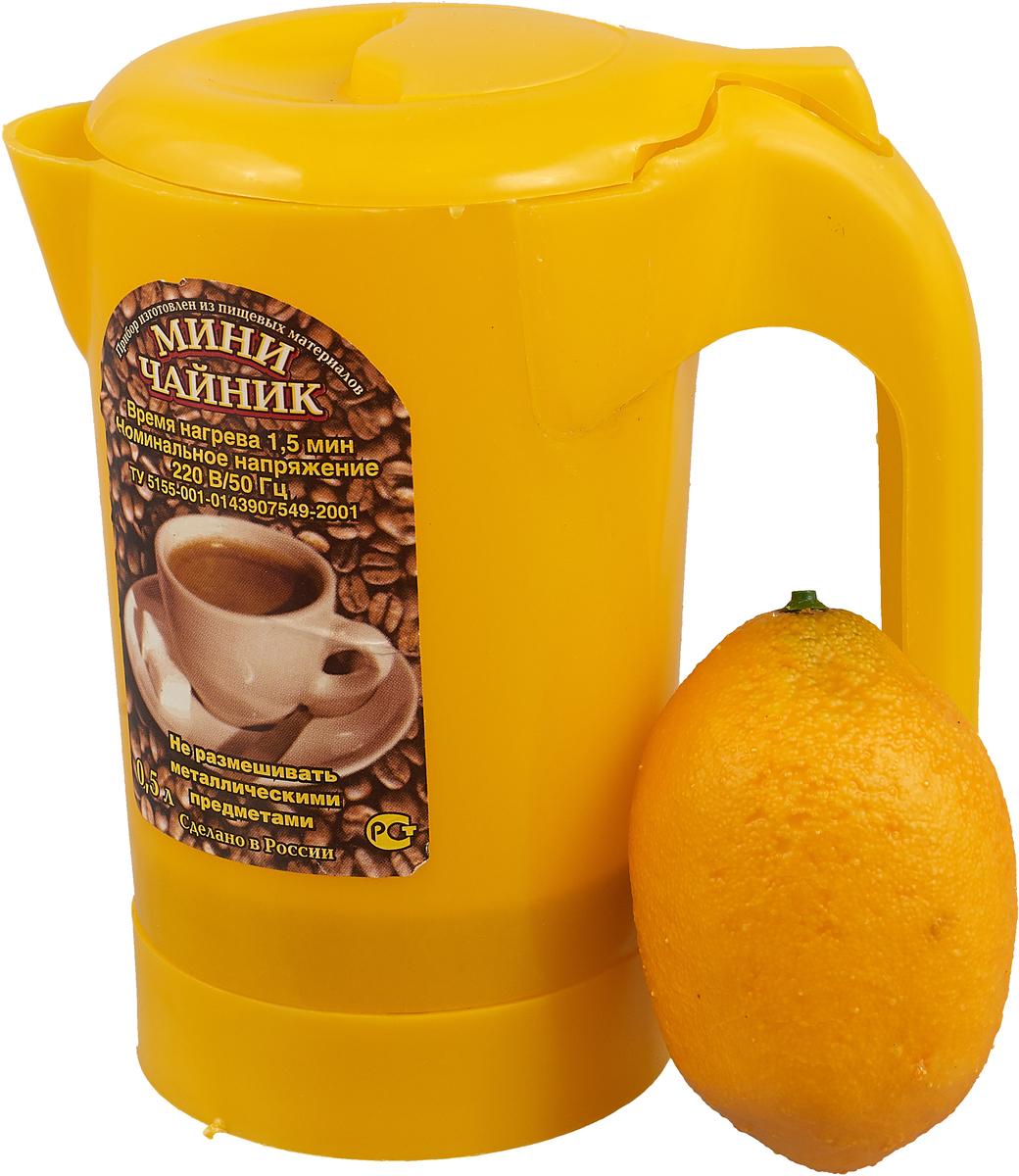 Электрический чайник Zimber ZM-1235, цвет: желтый Zimber