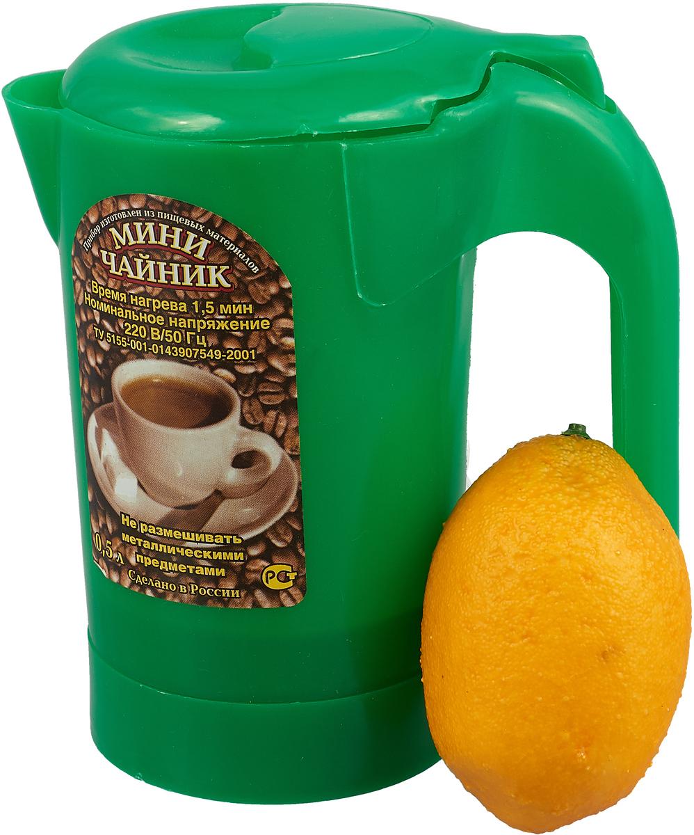 Электрический чайник Zimber ZM-1235, цвет: светло-зеленый Zimber