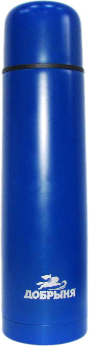 Термос Добрыня, цвет: синий, 1 л