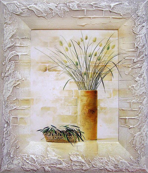 Картина Dekart Сухоцветы 1, 31,5 х 36,5 х 2 см8Л0844Каждому хозяину периодически приходит мысль обновить свою квартиру, сделать ремонт, перестановку или кардинально поменять внешний вид каждой комнаты. Картина Сухоцветы 1 — привлекательная деталь, которая поможет воплотить вашу интерьерную идею, создать неповторимую атмосферу в вашем доме. Окружите себя приятными мелочами, пусть они радуют глаз и дарят гармонию. Рекомендуем!